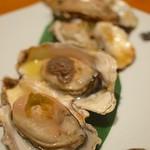 牡蠣と日本酒 四喜 - 味が選べる焼き牡蠣