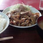 北京飯店 - 甘辛い焼肉定食930円