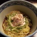 庭つ鶏 葉山 - 「俺の冷やし中華」750円
