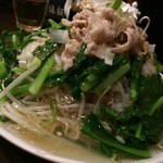 俵飯 - 鶏唐ミルフィーユ飯(の外観)