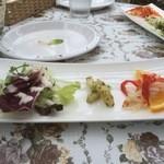 パニーノガーデン - ランチセットのサラダ