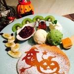 カフェ トラペジオ - ★ハロウィンパンケーキ★