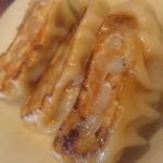 どすこい拉麺芝松 - 焼き餃子