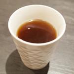 アーユルヴェーダ・カフェ ディデアン - ディラーニさんのカレーについてくる紅茶