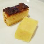 アーユルヴェーダ・カフェ ディデアン - パイナップルケーキとルラン。この日はバナナケーキとパンプディングもありました。