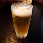 炭火焼・焼き鳥 花車 - 生ビール
