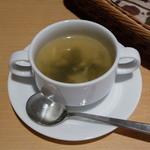 まるはダイニング - 旬の食材を使った本日のスープ(まるはコース)