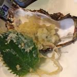 揚げたて天ぷら 天太 - 牡蠣の天ぷら