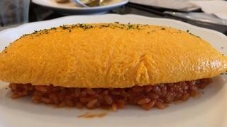 薫キッチン - 八ヶ岳卵のふわふわオムライス