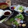 オゴポゴ - 料理写真:サンマのお造り定食(ランチ)