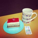 鈴木松月堂 - 料理写真:いちじくのケーキ