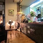 高品質珈琲と名曲 私の隠れ家 - カウンター席