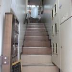 高品質珈琲と名曲 私の隠れ家 - 2階への階段