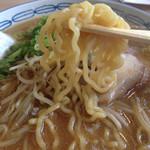 えぞっ子ラーメン - 麺。
