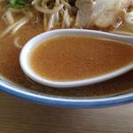 えぞっ子ラーメン - スープ。