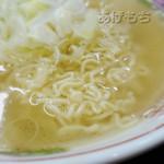 酉 - 麺です。
