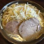 Mendoukuroton - G麺(全て普通)の麺大盛