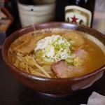 真武咲弥 - 料理写真:炙り味噌ラーメン~☆