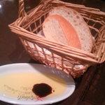 4291732 - パンとオリーブオイル、バルサミコ酢