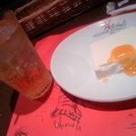 4291734 - パンナコッタと葡萄ジュース(白)