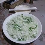 B&T カリーカフェ - プレーンサラダ(ドレッシング無し)