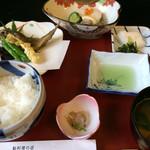 鮎料理の店 鮎の里 - 料理写真:★★★★ 庄川膳 別盛り子持ち鮎の塩焼き3尾付