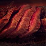 北野水産 - 牛肉溶石焼き