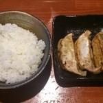 楓 - 餃子ライスセット