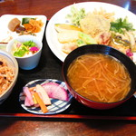42911631 - 天ぷら定食