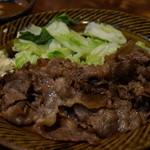 たくみ割烹店 - 鳥取和牛 バター焼 1,700円