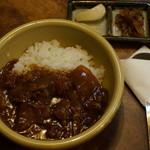 たくみ割烹店 - 鳥取和牛 ハヤシライス(我儘を言って半量にしてもらいました) 540円
