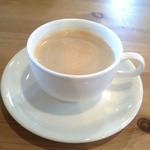 マナス カフェ - 2015/10 ホットコーヒー、200円