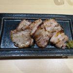 北海うまいもの処 庄や - 北海道ホエー豚柚子塩麹漬焼(750円)