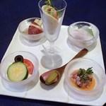 ドーミー倶楽部 軽井沢 - 料理写真:夕食1 冷製オードブル盛り合わせ