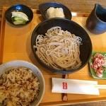 高田 - おろし蕎麦のお昼セット
