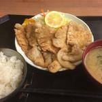 42914330 - 生姜焼き定食
