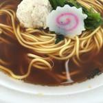 らーめん そよ風 - 麺(第2回まるひろ川越ラーメンフェスティバル)
