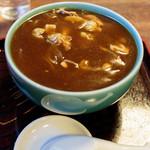 泰明庵 - 冷カレー蕎麦