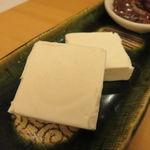 口福料理 なかもと - 烏賊の山椒漬けとクリーム・チーズ2