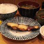 きづいち - 焼魚定食(さわら味噌漬)