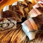 42918339 - 2015.9.  5食限定 秋刀魚の棒寿司