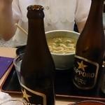 42918935 - 瓶ビール(サッポロ)