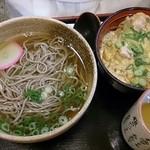 42918937 - 親子丼&蕎麦(温)セット
