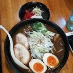 鶏口 - 【10月10~12日限定】和風カレーそば 750円