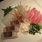 Yuuan - オススメされた、お刺身の盛り合わせ!美味しかったです!