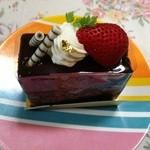 42920656 - チョコレートケーキ。