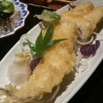 とりすみ - 穴子の天ぷら