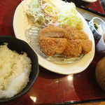 かつ波奈 - 厚切ヒレかつ定食