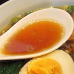 らぁめん紺屋 - スープ