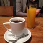 42921558 - H.27.10.8.昼 本日のコーヒー(エチオピア) 500円・みかんジュース 550円